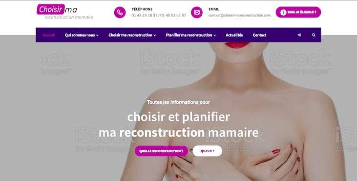 reconstruction mammaire après mastectomie à paris diep pap grand dorsal prothèse expandeur